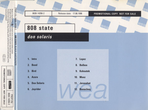 808 State - Don Solaris