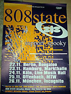 Germany tour poster