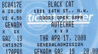 Thu:17:Apr:08 - Massonix (w. Autechre) - Black Cat - Washington - USA.