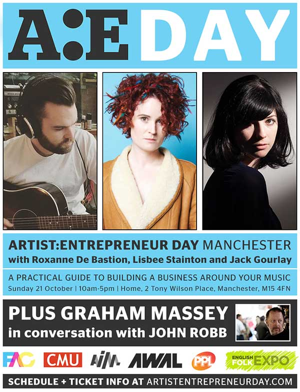 Flyer 21 Oct Graham Massey at AE Day at Home in Manchester