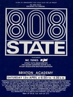 808 State / N-Joi, Brixton Academy, London, 1991