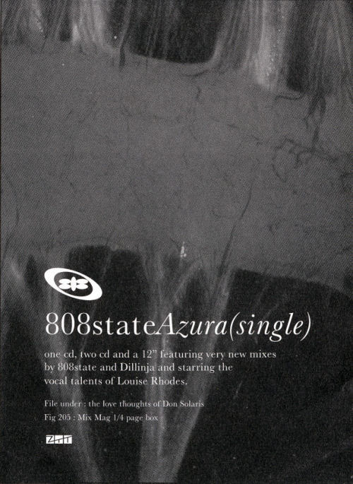 808 State - Azura - UK Mixmag Advert