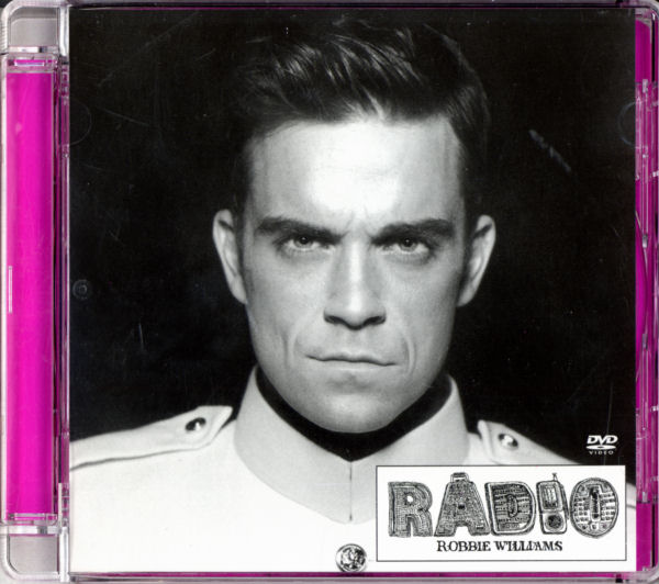 Robbie Williams - Radio - UK DVD Single - Front Cover