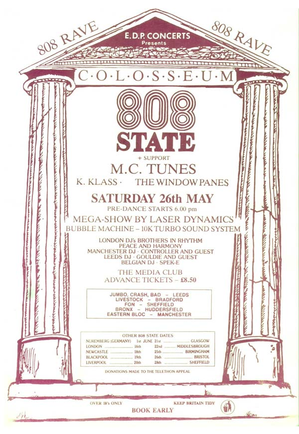 Leeds Colloseum flyer